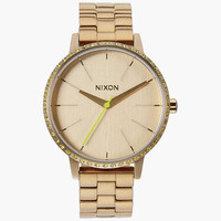 Nixon Kensington Watch All Gold/Neon Yellow One Size For Women 25951064901