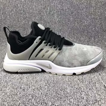 NIKE AIR PRESTO Men Fashion Running Sport Casual Shoes Sneakers Grey G-CSXY