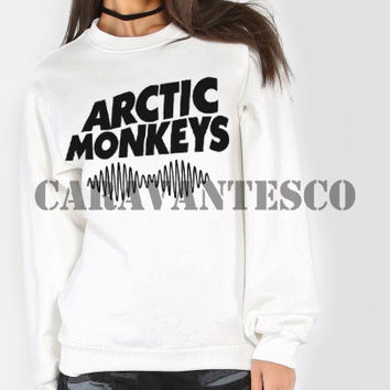 Arctic Monkeys Sweatshirt - Arctic Monkeys Band Logo Unisex Sweatshirts