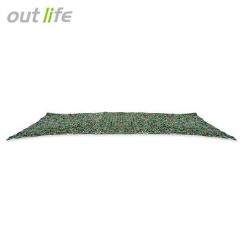 Outlife 2x5M Woodland Military Car Tent Camouflage Net for Hunting Camping Cover Sunshade