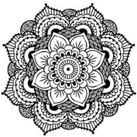 Mandala Temporary Tattoo (Set of 2)