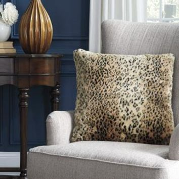 Rolle Faux Fur Accent Pillow
