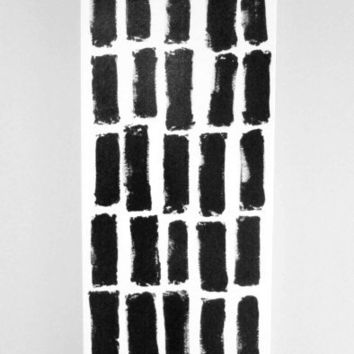 Abstract Painting Original Large Acrylic Painting Canvas Large Painting Black and White Painting Abstract Canvas Line Painting TRAFFIC JAM