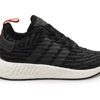Mens NMD_R2 - BY2499 - Black Red White Trainers