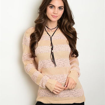 * BLUSH SWEATER