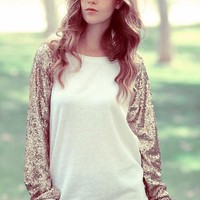 Anything Goes Sequin Sweater