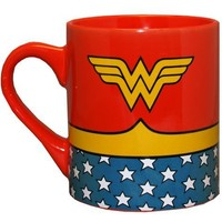 Wonder Woman DC Comics Superhero Costume Ceramic Coffee Mug:Amazon:Toys & Games