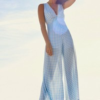 Lost + Wander Fiesta Gingham Jumpsuit | Urban Outfitters