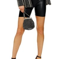 Topshop Faux Leather Cycling Shorts | Nordstrom