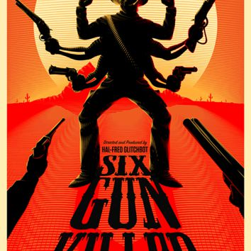 """Six Gun Killer"" by Bruce Yan"