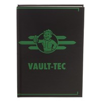Fallout Vault-Tec Journal Gift for Gamers - Fallout Accessories Stationary Fallout Gift - Gaming Stationary