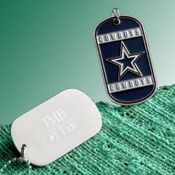 ICIKU3N NFL Charms, Personalized Dog Tag Necklace, NFL Football Teams, Military Dogtags, New Y