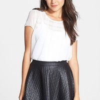h.i.p. Quilted Skater Skirt (Juniors)
