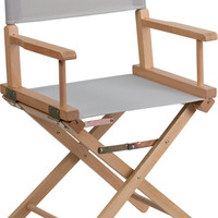 Gray Directors Chair