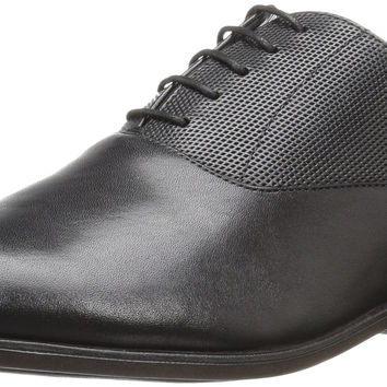 Steve Madden Men's Esos Oxford Black Leather 10.5 D(M) US '