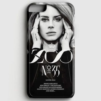 Lana Del Rey Cigarettes iPhone 6/6S Case