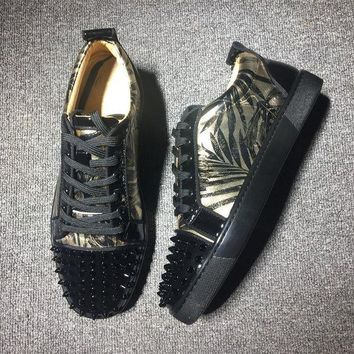 DCCKU62 Cl Christian Louboutin Low Style #2010 Sneakers Fashion Shoes