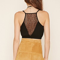 Contemporary Lace Cropped Cami
