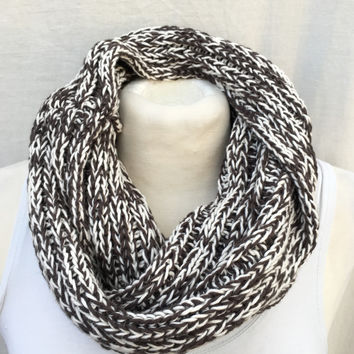 Cotton Infinity Loop Scarf- color options