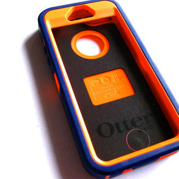 iPhone 5s Otterbox Defender Case - Purple/orange  Otterbox iPhone 5 Case -  iPhone 5/5s Cover