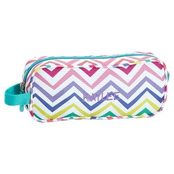 Gear-Up Multi Chevron Print Pencil Case