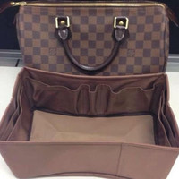 Speedy LV Base Shaper Speedy 35 , Bag Organizer Insert Speedy Chocolate Brown Color