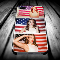 3 del rey american flag iPhone 4/4s/5/5s/5c/6/6 Plus Case, Samsung Galaxy S3/S4/S5/Note 3/4 Case, iPod 4/5 Case, HtC One M7 M8 and Nexus Case **