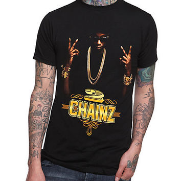 2 Chainz Deuces Slim-Fit T-Shirt | Hot Topic