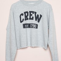 NANCY CREW SWEATSHIRT