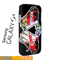 Mickey Hand Supreme Samsung Galaxy Series Full Wrap Cases