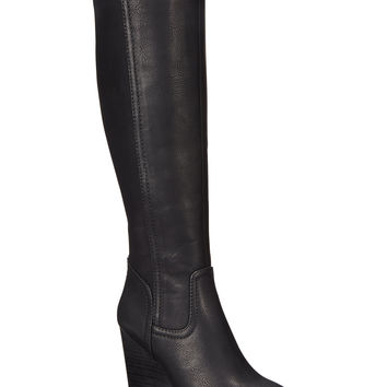 Rampage Henrietta Wedge Dress Boots
