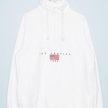 Louis Los Angeles 1984 Embroidery Sweatshirt