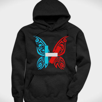 shop twenty one pilots hoodie on wanelo. Black Bedroom Furniture Sets. Home Design Ideas