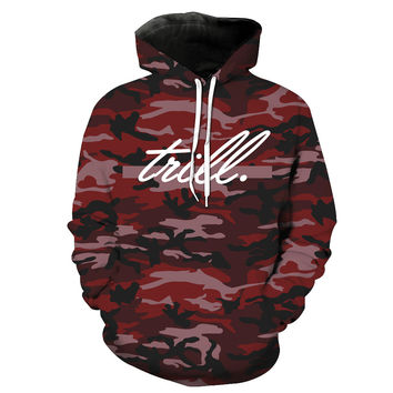 Trill Camouflage Hoodie