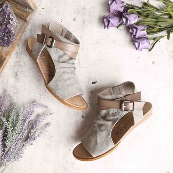 blowfish - balla sandal - steel grey