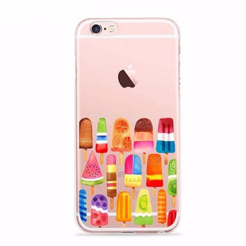 Summer Ice Cream Case for iPhone Fun
