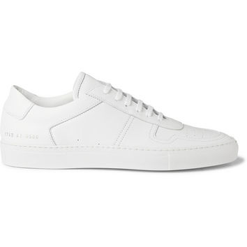 Common Projects - BBall Low Leather Sneakers | MR PORTER