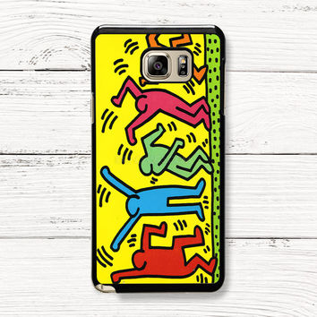 Keith Haring Pop Art Samsung Galaxy Case, iPhone 4s 5s 5c 6s Cases, iPod Touch 4 5 6 case, HTC One case, Sony Xperia case, LG case, Nexus case, iPad case, Cases