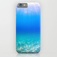 One Deep Breath iPhone & iPod Case by Nicklas Gustafsson