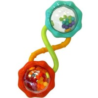 Bright Starts Rattle and Shake Barbell Rattle (Discontinued by Manufacturer)