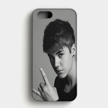 Justin Bieber iPhone SE Case