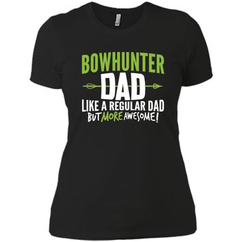 Men's Bow Hunter Dad Shirt Awesome Fathers Day Gift Archery
