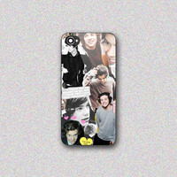 Harry Styles Collage - Print on Hard Cover for iPhone 4/4s, iPhone 5/5s, iPhone 5c - Choose the option in right side