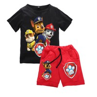 Paw Patrol Short Sleeve Shirt + Shorts