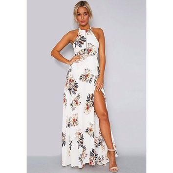 Fitting In Floral Maxi Dress