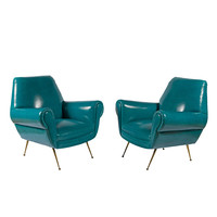 Pair of Pavone Club Chairs