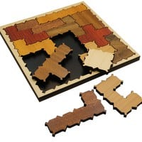 Pentazigzag - Pentominoes Packing Problem Wooden Puzzle