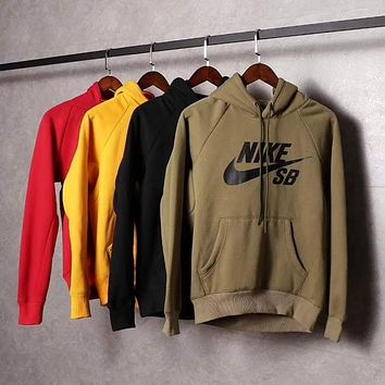 NIKE SB Women/Men Fashion Pullover Sweater Sweatshirt Hoodie