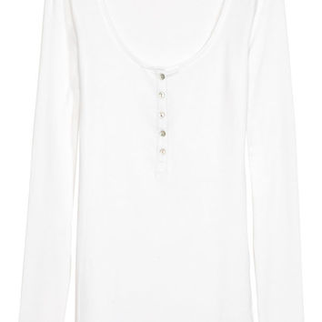 Henley-style Top - from H&M