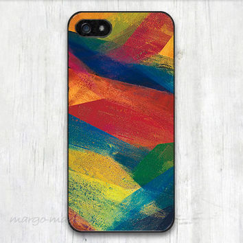 cover,case fits iPhone,iPod 5th models, paint, farbic, paint pattern, colorful